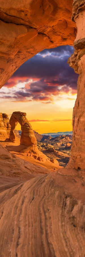 Arches National Park #by admin #rock rocks cliffs mountain canyon nature usa america landscape amazing sky sun clouds sunset sunlight