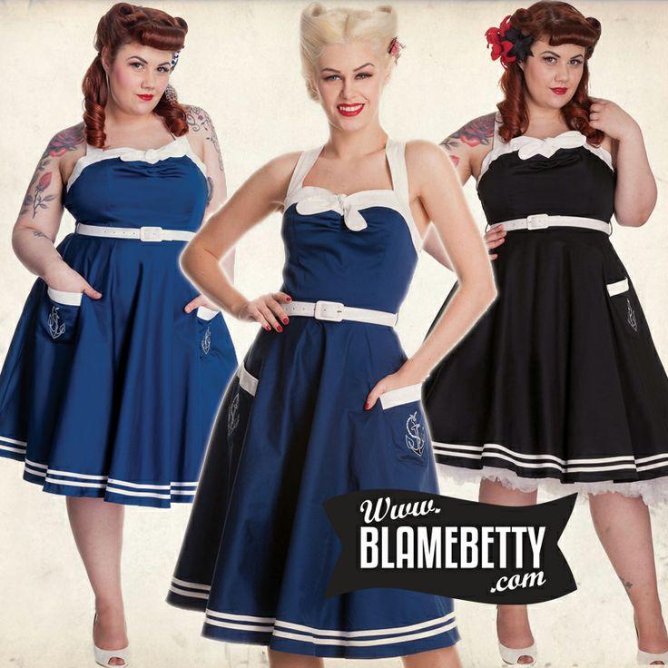 Oooooo the Siren Dress is just so lovely! #blamebetty
