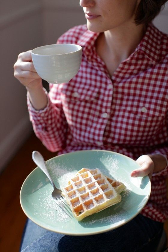 Belgian Waffle Recipe ~What's for breakfast ! would be perfect for a fundraiser at school!