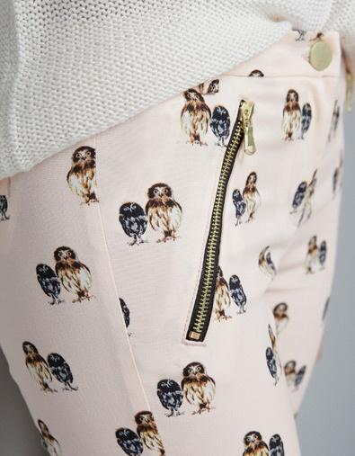 OWL SKINNY TROUSERS - Trousers - TRF - ZARA