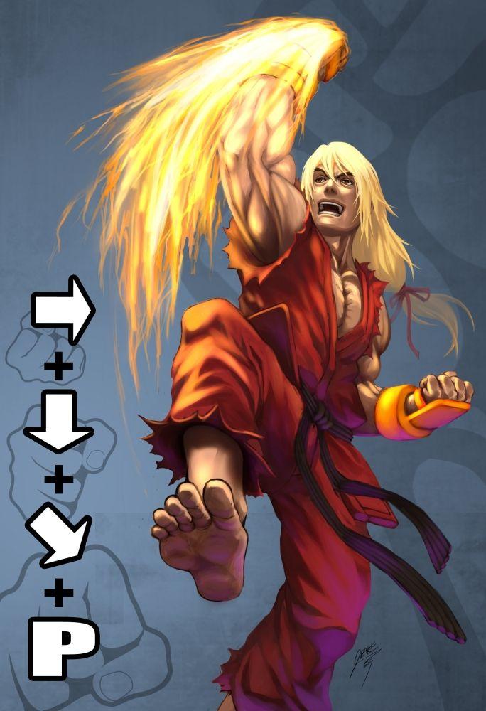 Shoryuken - Ken - Street Fighter - Drake Tsui