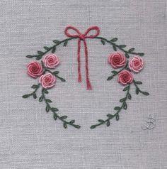 Jo Butcher, Embroidery Artist - Wreath