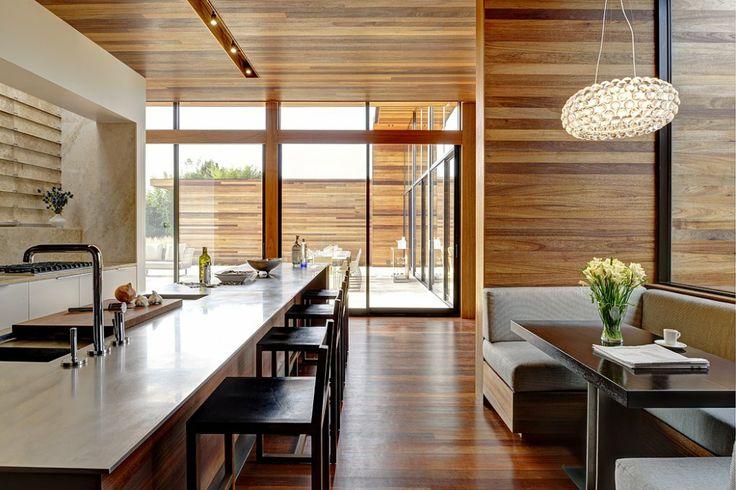 modern kitchen breakfast nook modern home design