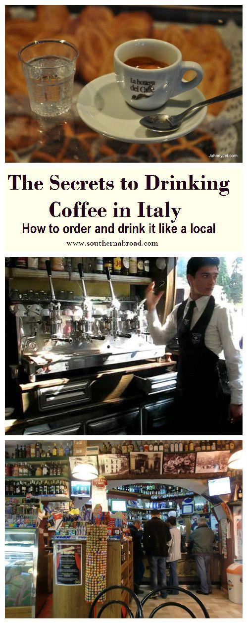 Drinking Coffee in Italy, italian coffee, italy travel, how to order italian coffee, italian espresso