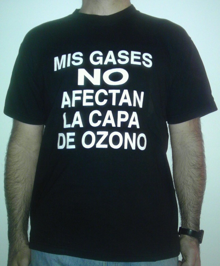 158 - mis gas no afectan la capa de ozono sia chiaro #buenosaires #t-shirt #regalo #capadeozono
