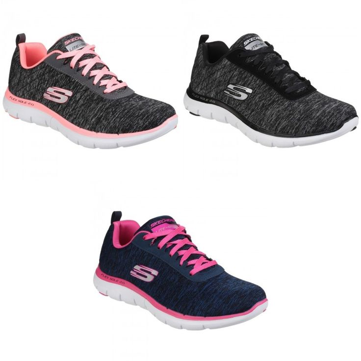 Skechers Womens/Ladies Flex Appeal 2.0 Marl Effect Trainers/Sneakers
