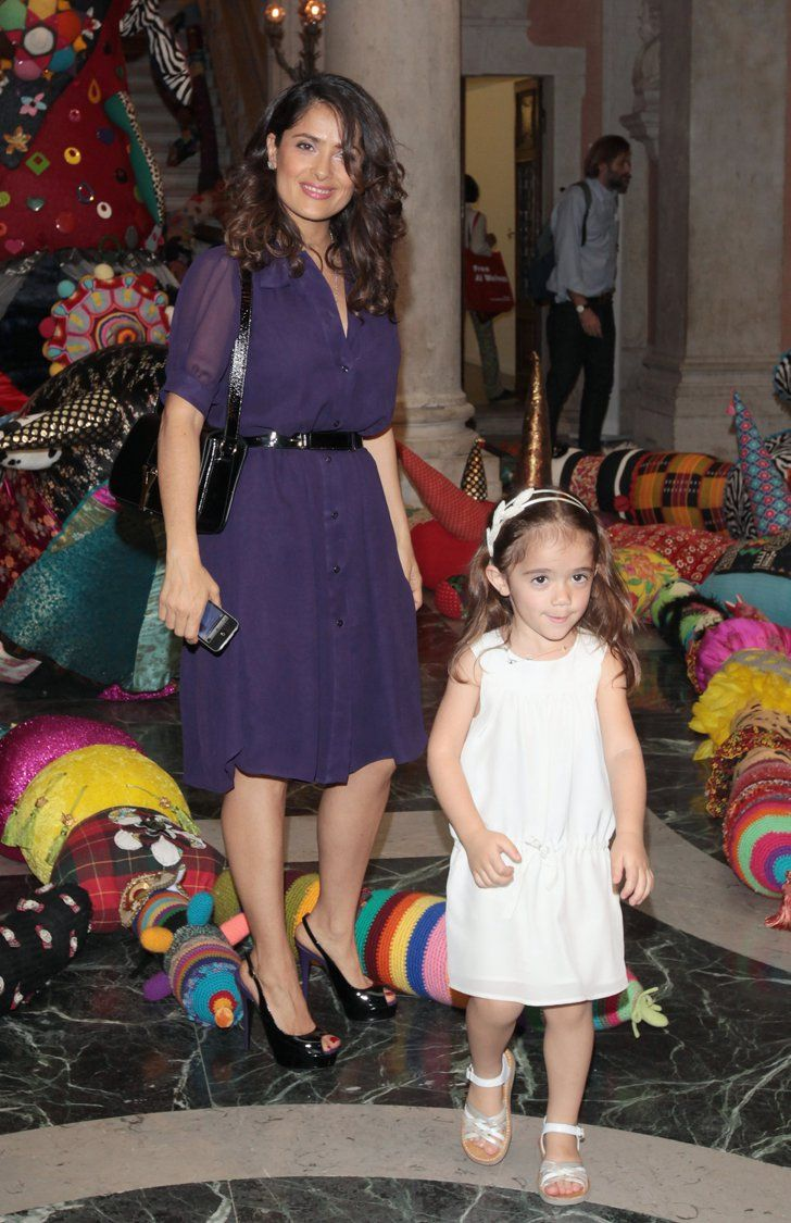 Pin for Later: Salma Hayek and Her Daughter, Valentina, Are the Modern-Day Lorelai and Rory