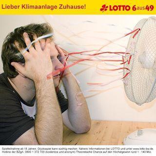 Keine Lust auf viel zu heiße Wohnung? Einfach für Abkühlung sorgen! Mit dem 10 Mio. Euro #Jackpot von #LOTTO 6aus49 kein Problem. Zum Spiel geht's hier: www.lotto-bw.de #lotto6aus49 #ichwärsogernemillionär #enjoy #dreamyourdream #lottodraw #wannabeamillionaire #instaphoto #pictureoftheday #photooftheday #lottobw #badenwürttemberg #summer #summersun