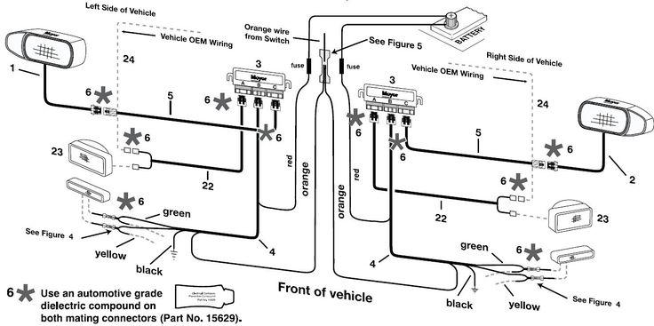 Elegant Fisher Plow Light Wiring Diagram In 2020 Snow Plow Diagram Alternator