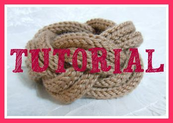 Tutorial bracciale tricotin