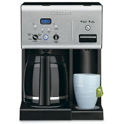 Cuisinart 12-Cup Coffee Maker with Hot Water System, Black