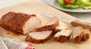 Smoked Paprika Pork Tenderloin: Pork tenderloin's mild flavor pairs well with a seasoning rub that includes brown sugar and McCormick® Smoked Paprika.