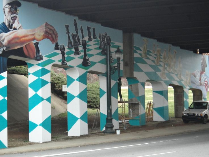 Asheville mural ian wilkinson magnificent murals for Asheville mural project