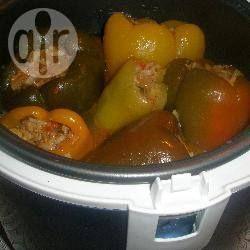 Фото рецепта: Фаршированный перец в мультиварке