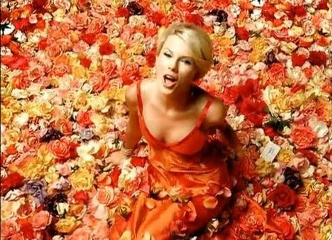 taylor swift in a custom sandi spika dress in the quotour
