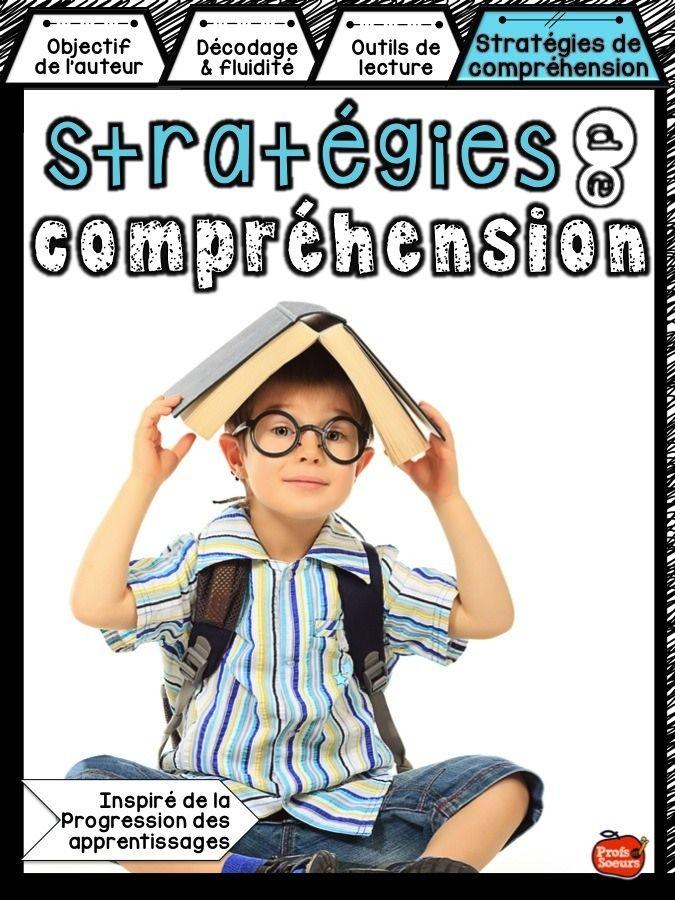 Stratégies de compréhension de lecture pour lecteurs moyens et avancés.