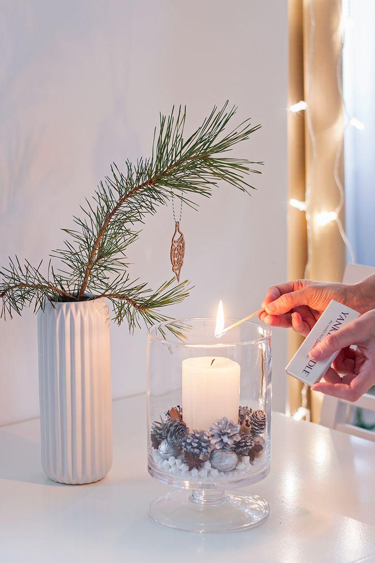 Stroik świąteczny DIY / christmas decorations