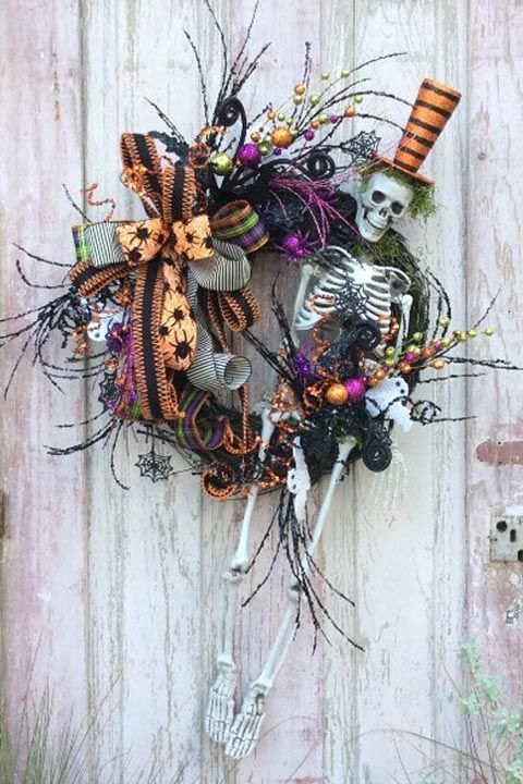 663 best halloween crafts images on pinterest halloween for B m halloween decorations