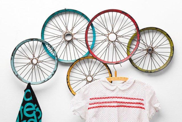 Appendere gli abiti a una...ruota #cosedidesign
