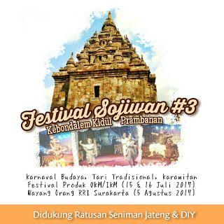 Wisata Kulinere: Festival Sojiwan ke-3 Prambanan Berlangsung 15 - 1...