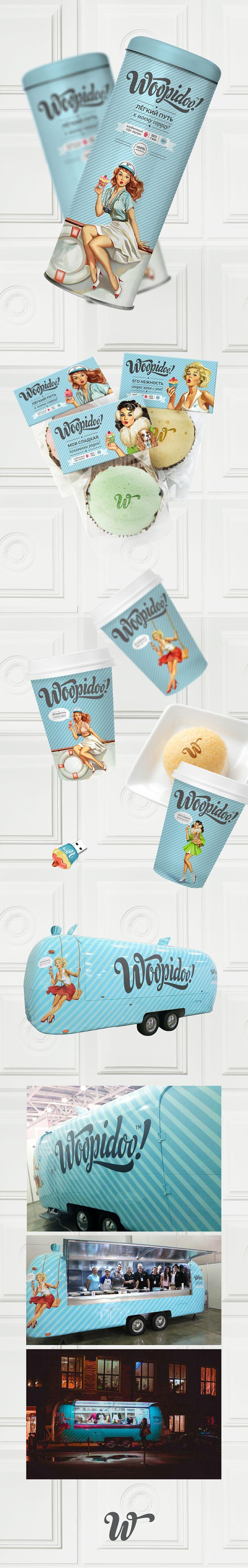 """TIMES branding - Разработка фирменного стиля для сети кофеен """"Woopidoo"""""""