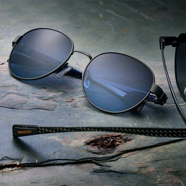 Breed Volta Gunmetal Carbon Fiber Sunglasses #Carbon, #Sunglasses, #UV