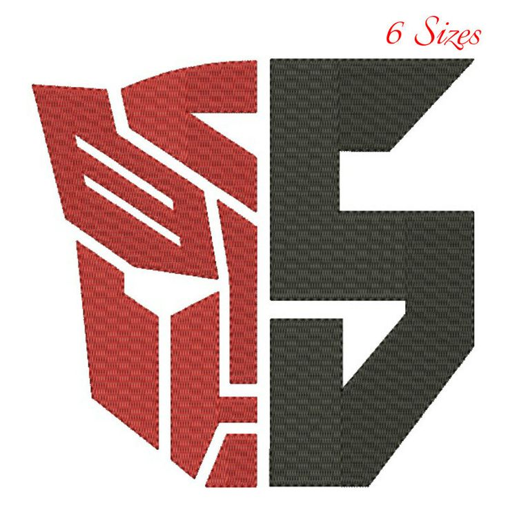 Transrormers embroidery designs,digital download,Transformers 2017 logo,Transformers fill stitch,machine embroidery,superheroes pattern by GretaembroideryShop on Etsy