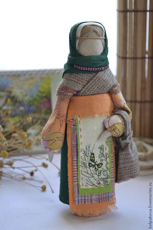 """Купить кукла Успешница""""Черёмушка"""". - тёмно-зелёный, успешница, народная кукла, народная традиция, народные промыслы"""