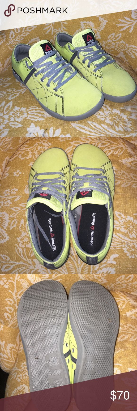 Reebok Crossfit Shoes Crossfit lifting shoes. Never worn outside, worked out once in them. Didn't fit me like I needed Reebok Shoes Athletic Shoes