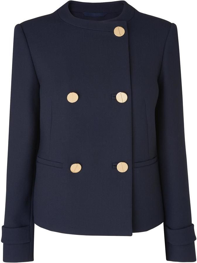 LK Bennett Bay Blue Jacket
