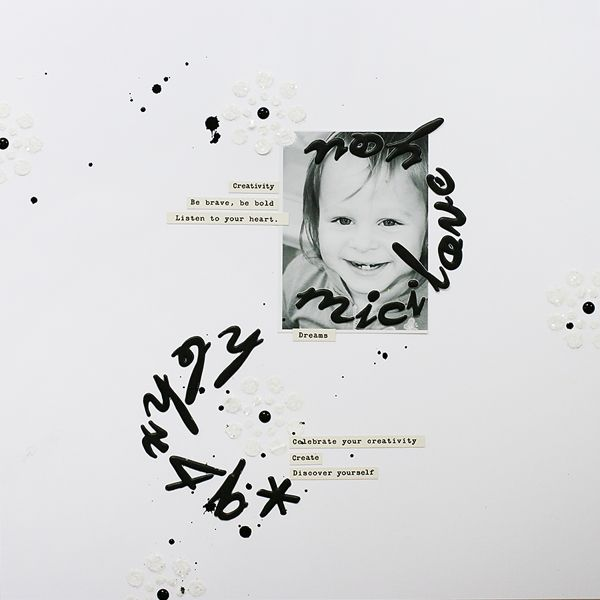dreams | traditional scrapbooking page by todido