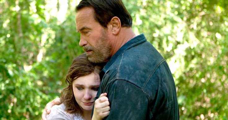 'Maggie' Clip: Schwarzenegger Comforts His Zombie Daughter -- Arnold Schwarzenegger explains why he spent two weeks looking for his daughter amid the zombie apocalypse in a new clip for 'Maggie'. -- http://movieweb.com/maggie-movie-clip-arnold-schwarzenegger/