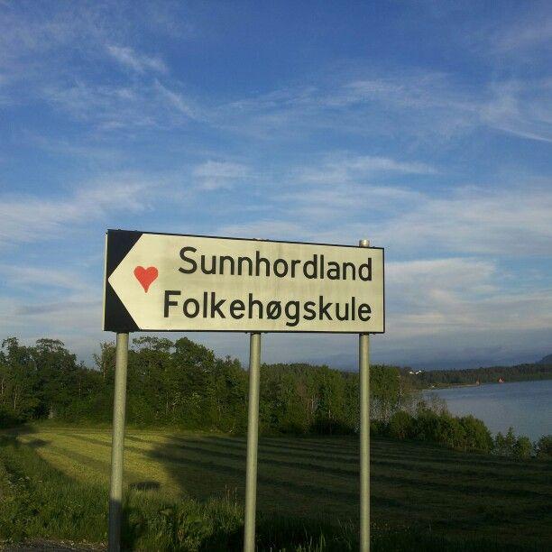 Veien til Sunnhordland folkehøgskole