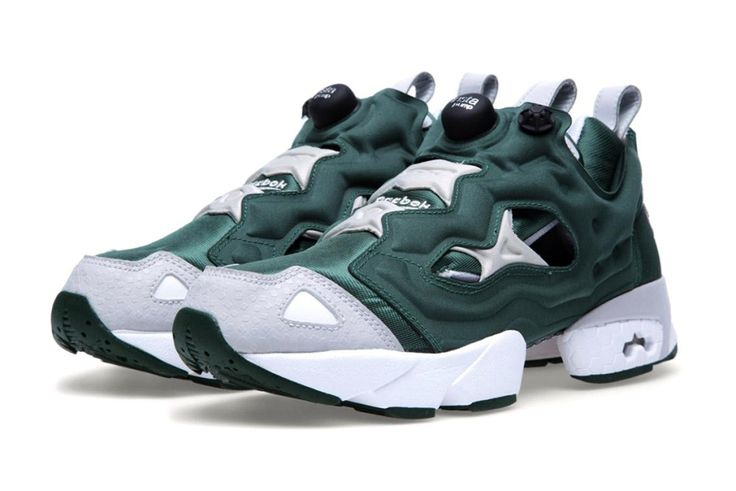 "Image of Reebok Insta Pump Fury ""Racing Green"""