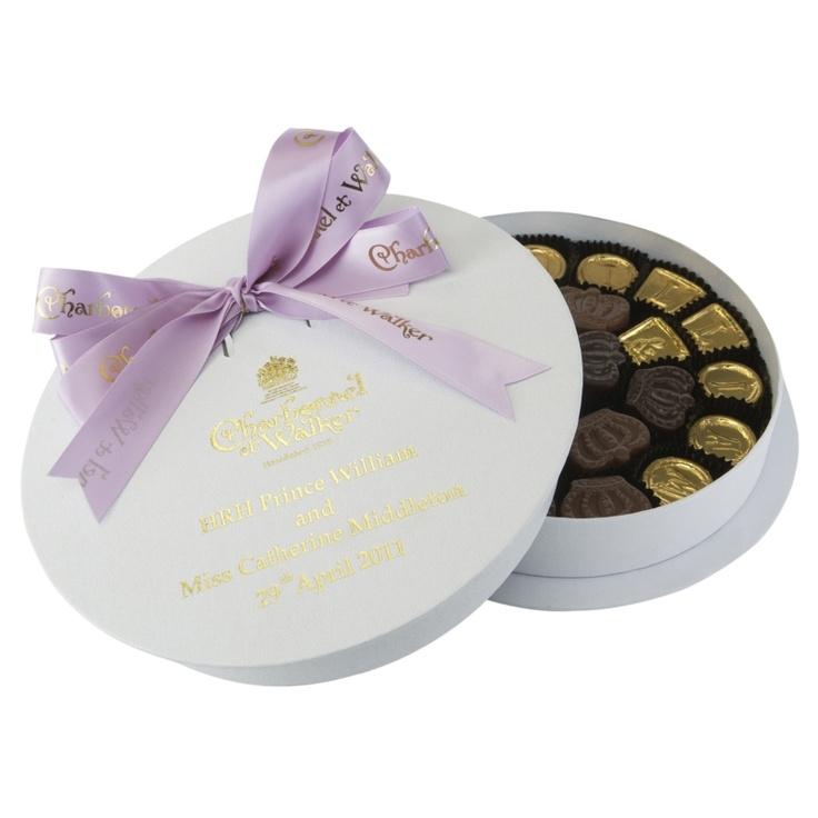 Royal Wedding Charbonnel Et Walker William Kate Chocolates 35