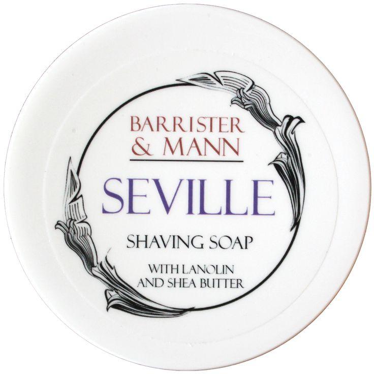 Barrister & Mann Seville Tallow Shaving Soap