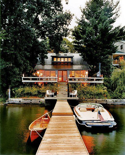 Copake Lake House - Dock - Lake Living - Outdoor Living