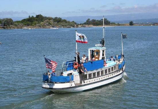 Humboldt Bay in Eureka, California - Madaket cruise: Bays Harbor, Humboldt Bays, Harbor Cruises, Vessel Madaket, Crui Motors, Motors Vessel, Cruises Motors, Madaket Cruises, Cocktails Crui