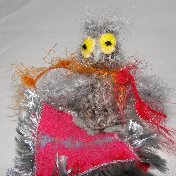Adorable Little Owl Creature - Small Gift Idea, Paradis Terrestre - Luxury British Made Accessories & Homeware
