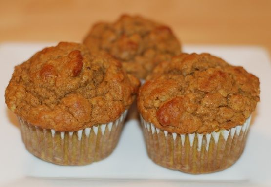 Pumpkin Oatmeal Muffins Recipe - going to add brewer's yeast and flax seed for lactation