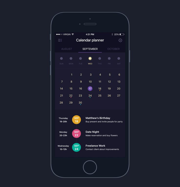 Mobile Calendars   #calendar #uidesign #design #graphic #ui #userinterface #user #interface #apps #ios #android #apple #mobile #animation #interaction #ux #events