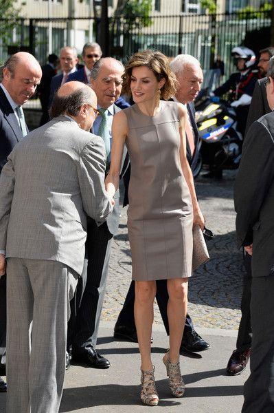 Queen Letizia of Spain Photos - King Felipe Of Spain and Queen Letizia Of Spain On Official Visit In France : Day 3 - Zimbio