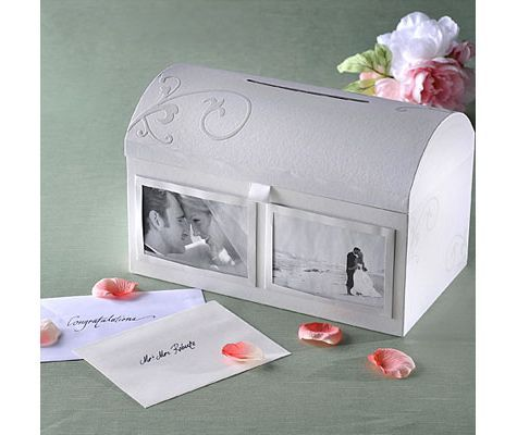wedding photo card box reception card holders weddings categories party city canada