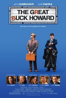 The Great Buck HowardMovie Posters, Howard 2008, Colin Hanks, Tom Hanks, Film Posters, Comedy Movie, John Malkovich, Bucks Howardi, Hanks Movie