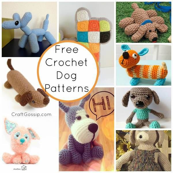 125 Best Crochet Dogsfree Patterns Images On Pinterest Free