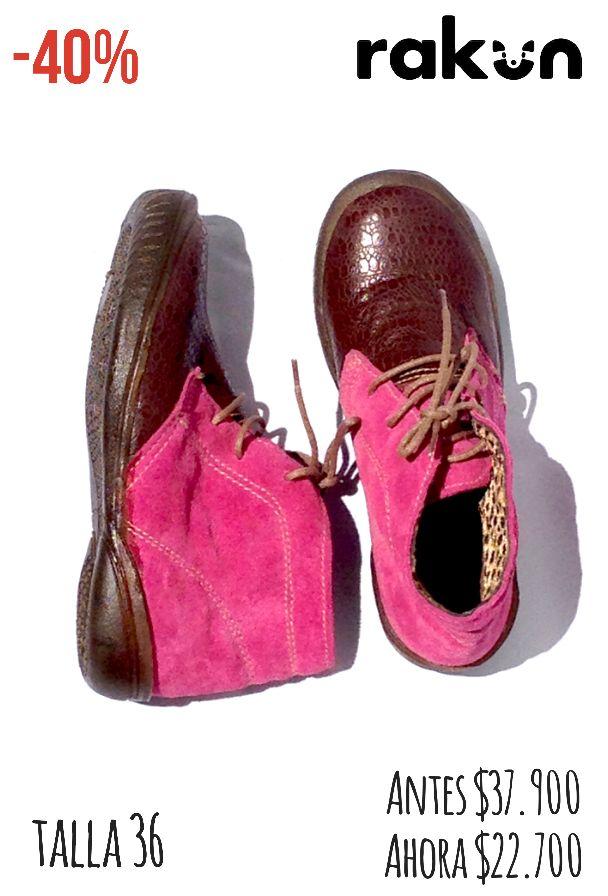 Descuentos de Primavera Zapatos en cuero y reno  talla 36 A solo $22.700
