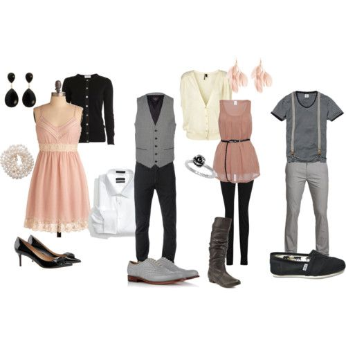 Engagement Photo Outfit Ideas #engagement #photography #outfits