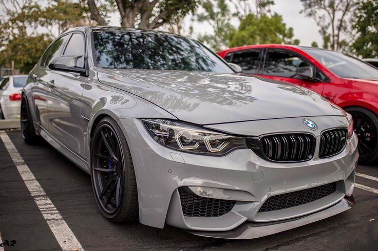 Nardo Gray BMW M3 sedan | modified | (via: kleaperm3)