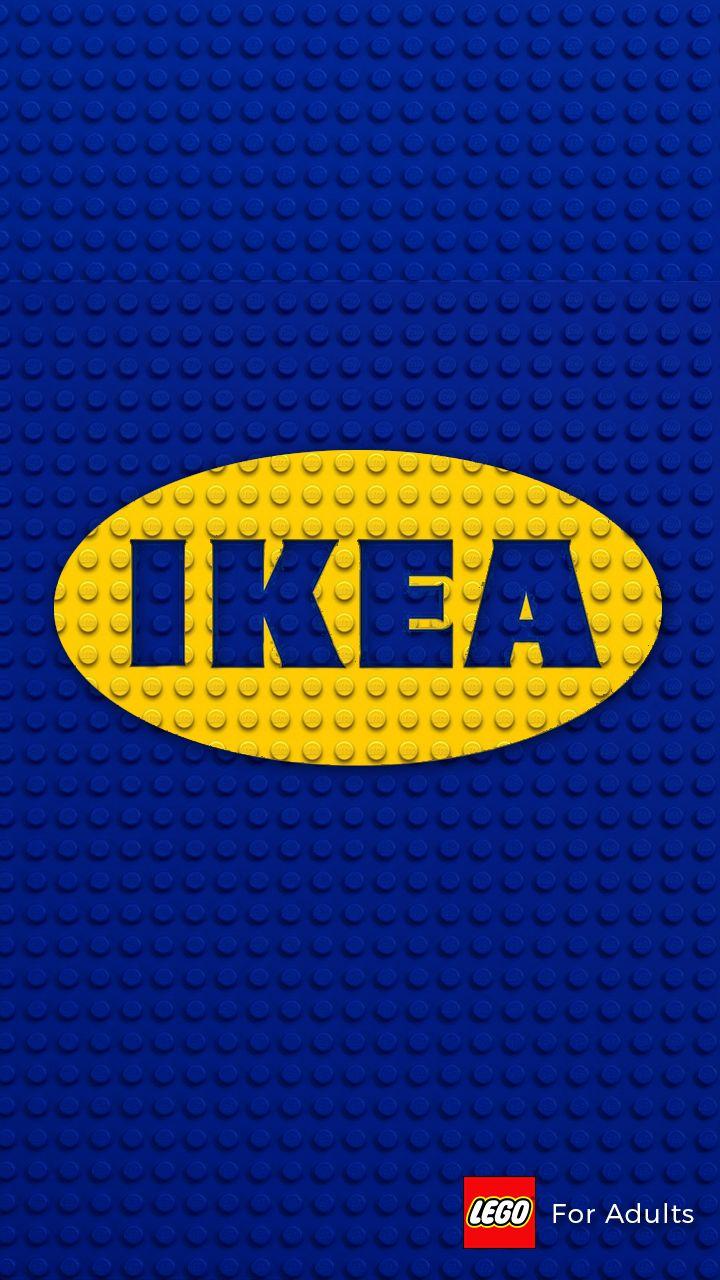 IKEA : LEGO for Adults  #poster #IKEA #LEGO #minimal