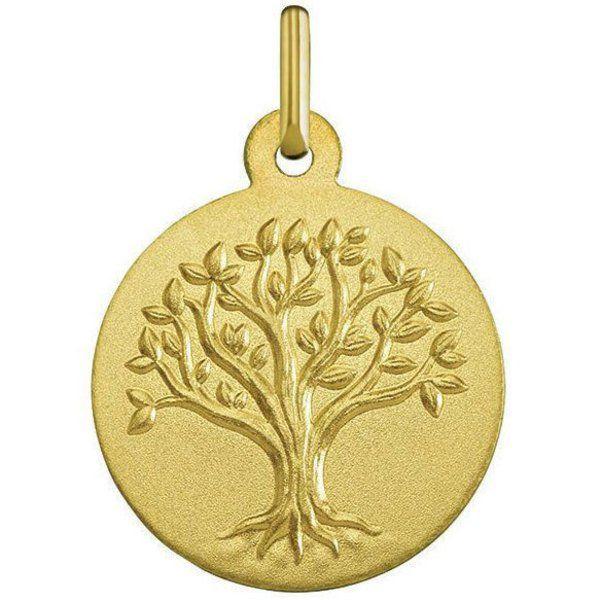 Médaille Arbre de vie (or jaune 18ct) (Mon Premier Bijou) sur PremierCadeau.com